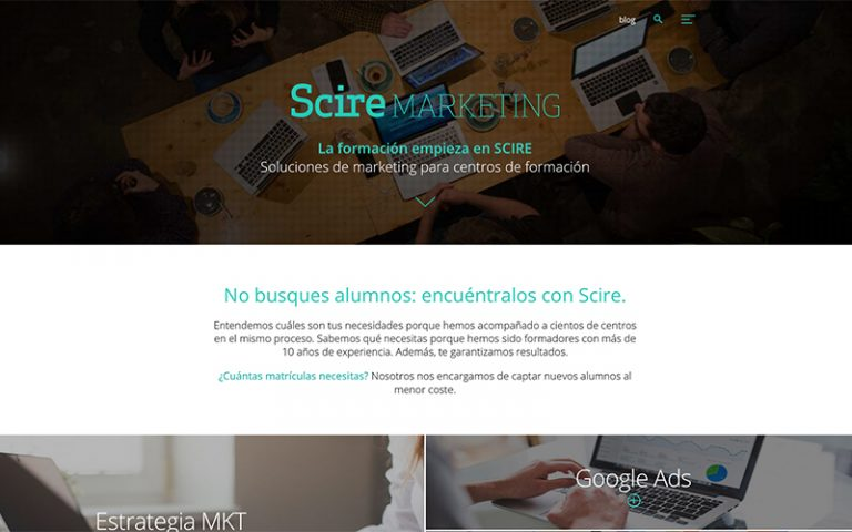 novedad score marketing