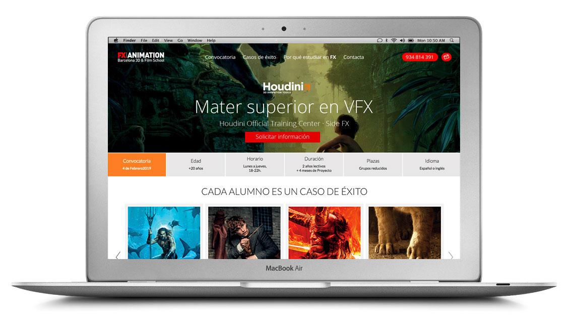 FX animation escuela de cine y animacion en barcelona