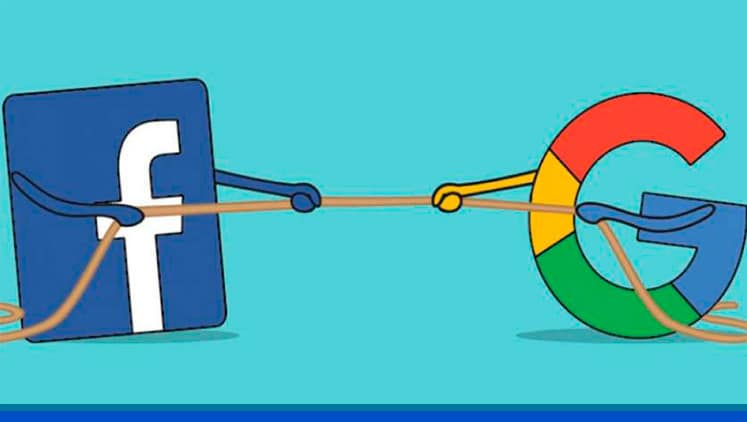 Qué diferencia existen entre las campañas de Facebook y Google Ads